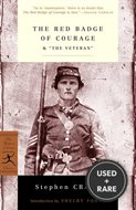 """The Red Badge of Courage & """"the Veteran"""" (Modern Library Classics)"""