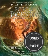 The Sea of Monsters (Percy Jackson & the Olympians #02) (Rick Riordan)-Audio Cd