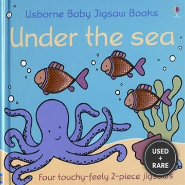 Under the Sea (Usborne Baby Jigsaw Books)