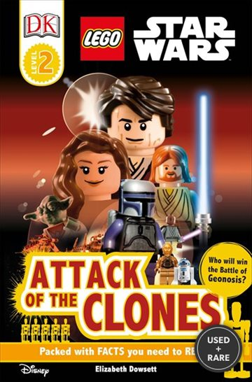 Dk Readers Lego Star Wars Attack of the Clones Level 2