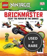 Lego Ninjago: Fight the Power of the Snakes Brickmaster [Hardcover] By Dk Pub...