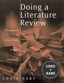 Doing a Literature Review: Releasing the Social Science Research Imagination (Sage Study Skills Series)
