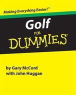 Golf for Dummies (Miniature Editions for Dummies (Running Press))
