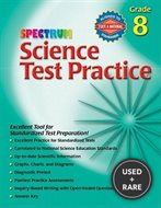 Science Test Practice, Grade 8 (Spectrum Science Test Practice)