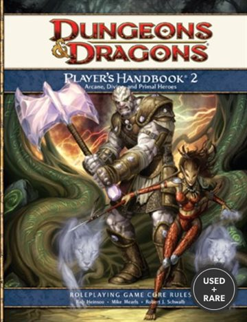 Dungeons & Dragons: Player's Handbook 2-Roleplaying Game Core Rules