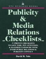 Publicity & Media Relations Checklists