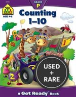 Counting 1-10 (Get Ready Books) [Illustrated] [Paperback] By Barbara Gregorich