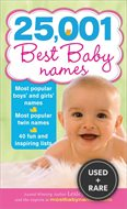 25, 001 Best Baby Names, 2e
