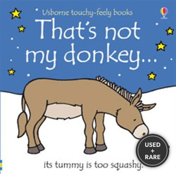 That's Not My Donkey...(Usborne Touchy-Feely Books)