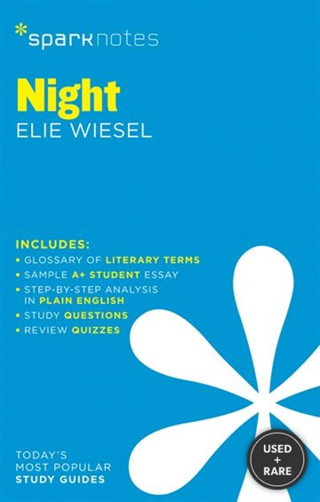 Night Sparknotes Literature Guide (Sparknotes Literature Guide Series)