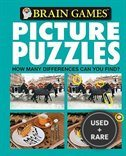 Brain Games Picture Puzzle: How Many Differences Can You Find (Teal Cover)