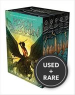 Percy Jackson and the Olympians Boxed Set (Rick Riordan)-Hardcover