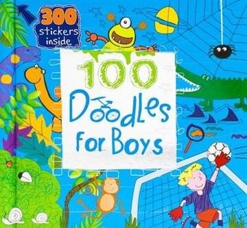 100 Doodles for Boys