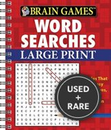 Brain Games Word Searches (Large Pring Red Cover)