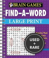 Brain Games Large Print Crosswords