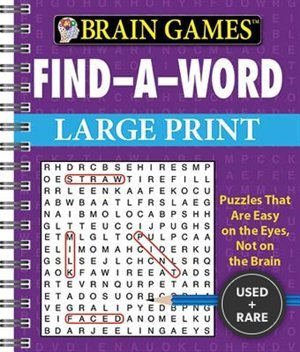 Brain Games: Find-a-Word (Large Print)