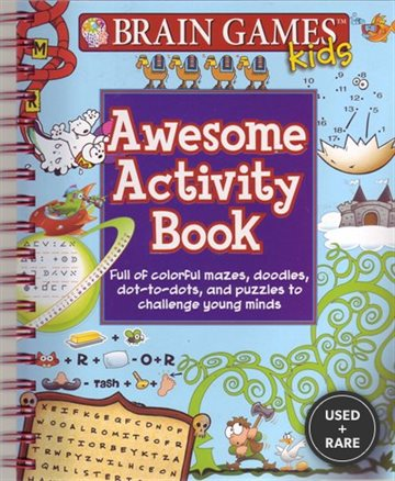 Brain Games Kids Awesome Activity Book