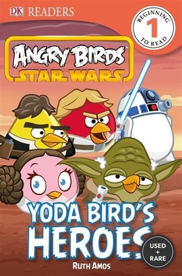 Dk Readers Angry Birds Star Wars Yoda Bird's Heroes Level 1
