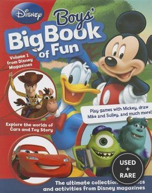 Disney Big Book of Fun for Boys (Disney Big Bk of Fun)