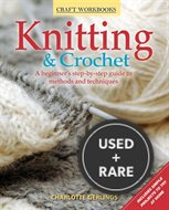 Knitting & Crochet: a Beginner