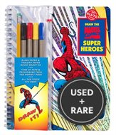 Draw the Marvel Comic Super Heroes: a Mighty Manual of Massively Amazing Step-By-Step Instruction [With 4 Felt Markers and Drawing Pencil] (Drawing Tools)