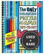 The Only Coloring, Puzzle, Dot-to-Dot, Activity Book: You
