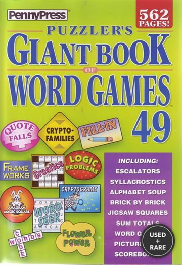 Puzzler's Giant Book of Word Games #49