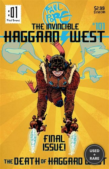The Death of Haggard West (the Invincible Haggard West)