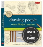 Drawing People/Como Dibujar Peronas: a Complete Drawing Kit for Beginners/Un Kit Completo Para Principiantes [With Anatomical Mannequin/Sharpener and