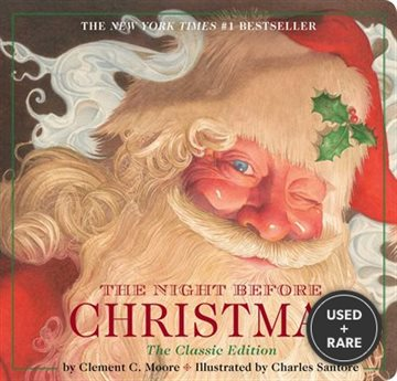 Night Before Christmas Board Book: the Classic Edition