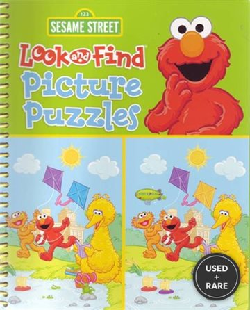 Sesame Street Look and Find Picture Puzzles