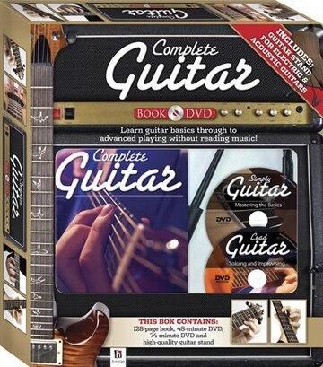 Complete Guitar Book & Dvd: Learn Guitar Basics