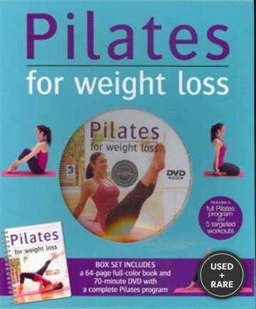 Pilates for Weight Loss Book and Dvd Set
