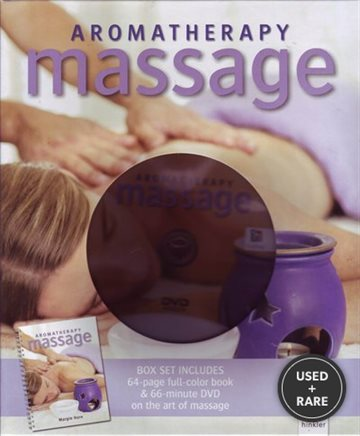 Aromatherapy Massage Box Set (64 Page Full Color Book & 66 Minute Dvd on the Art of Massage)