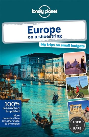 -Lonely Planet Europe on a Shoestring