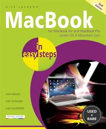 Macbook in Easy Steps: Covers Os X Mountain Lion