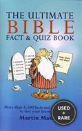 The Ultimate Bible Fact and Quiz Book [Spiral-Bound] By Martin Manser