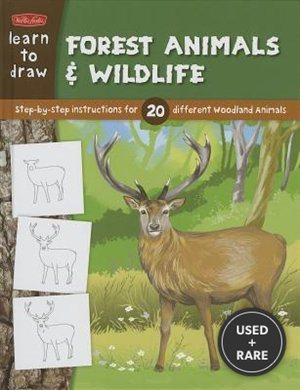 Learn to Draw Forest Animals & Wildlife (Learn to Draw (Walter Foster Library))