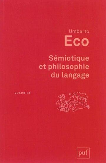 Sémiotique Et Philosophie Du Langage (4e Édition)