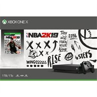 Xbox One X 1TB NBA 2K19 Bundle by Xbox One