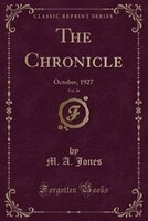 The_Chronicle_Vol_26_October_1927_Classic_Reprint