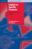 Cambridge Language Teaching Library - English for Specific Purposes: A Learning-Centred Approach