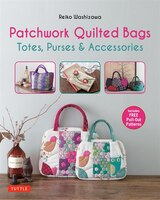 Patchwork Quilted Bags: Totes, Purses And Accessories (978080484666) photo