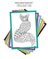 Coloring Creations Greeting Cardst - Imagination: With Scripture