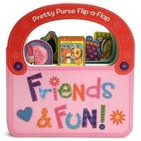 Friends & Fun: Pretty Purse Flip A Flap Board Book (978168052129) photo