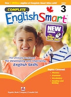 Popular Complete Smart Series: Complete Englishsmart (new Edition) Grade 3: Canadian Curriculum English Workbook