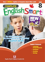 Popular Complete Smart Series: Complete Englishsmart (new Edition) Grade 8: Canadian Curriculum English Workbook