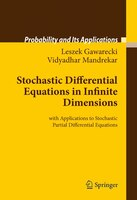 Stochastic Differential Equations in Infinite Dimensions: With Applications To Stochastic Partial Differential Equations: With App