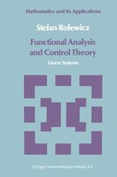 Functional Analysis and Control Theory: Linear Systems