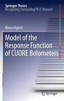 Model of the Response Function of CUORE Bolometers